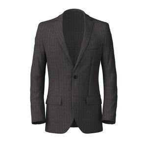 Blazer London Grey Pinstripe