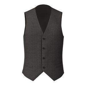 Waistcoat London Grey Pinstripe