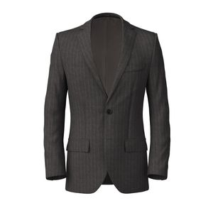 Jacket London Grey Pinstripe