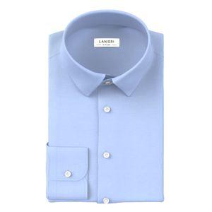 Camicia Icon Azzurra Popeline