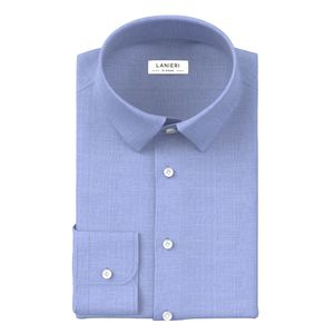 Shirt Light Blue Denim Zephyr Cotton