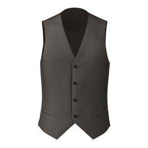 Vest Smoke Grey Pinstripe