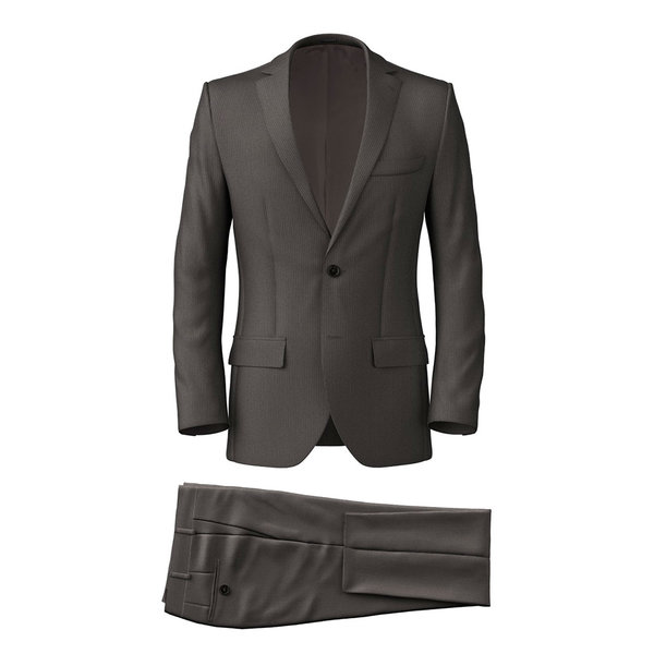 Suit Reda Four Seasons Striped Light Grey