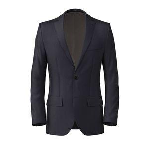 Jacket Midnight Blue Pinstripe