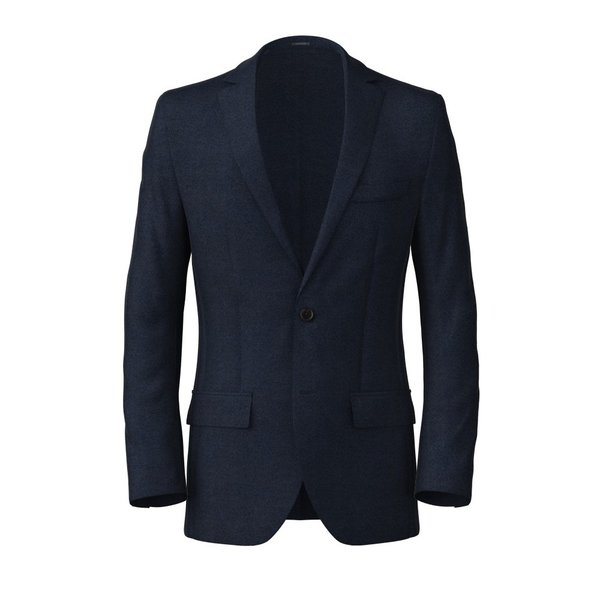 Blazer Reda Four Season Solid Dark blue