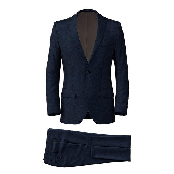 Anzug Reda Four Season Solid Dark blue
