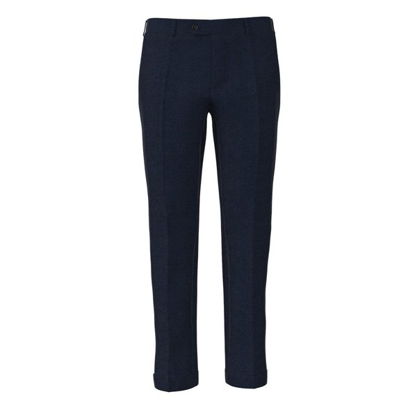 Trousers Reda Four Season Solid Dark blue