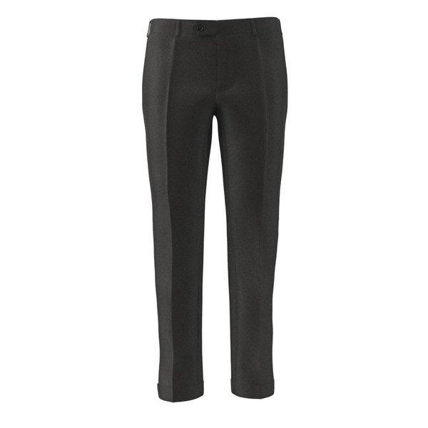 Trousers Reda Four Season Solid Dark grey