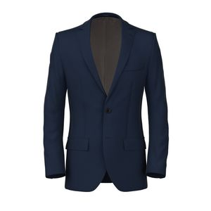 Jacket Blue Micro Herringbone