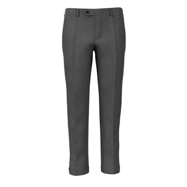 Pantaloni Grigi Pied de Poule Tessuto prodotto da  Reda