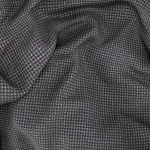 Blazer Grigio Pied de Poule Tessuto prodotto da  Reda