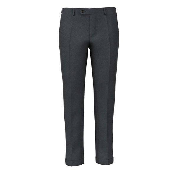 Pantaloni Antracite Pied de Poule Tessuto prodotto da  Reda