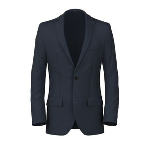 Blue Dotted Blazer Fabric produced by  Reda