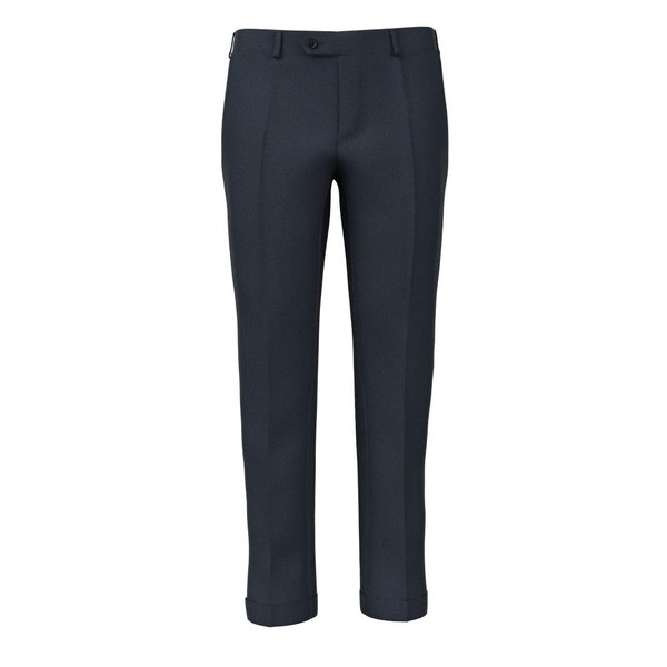 Pantaloni Blu Puntinati Tessuto prodotto da  Reda