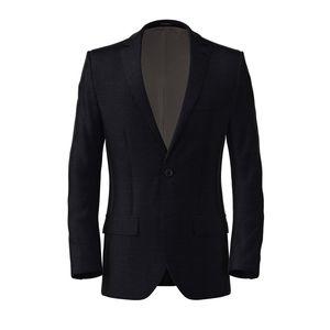 Jacket Oltre Blue Hopsack