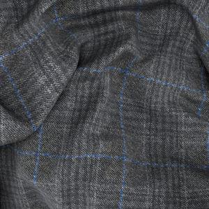 Pantaloni Grigi Napoli Principe di Galles Tessuto prodotto da  Tallia Delfino