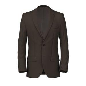 Brown Twill Jacket Fabric produced by  Tallia Delfino