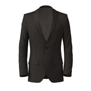 Jacket Mahogany Wool Silk