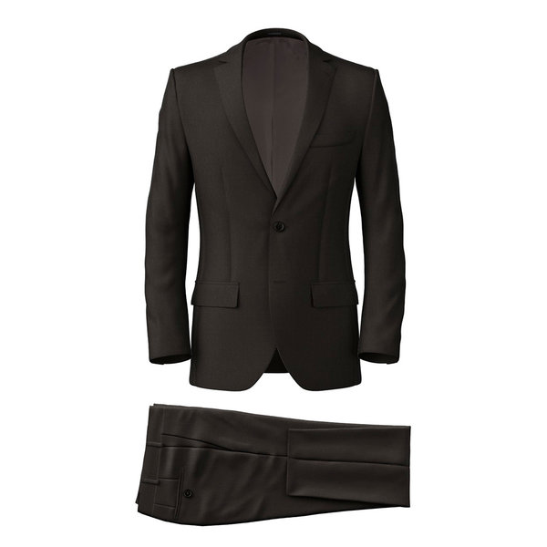 Suit Tallia Delfino Four Seasons Solid Brown