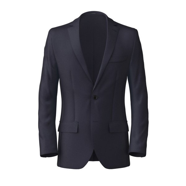 Blazer Tallia Delfino Four Seasons Solid Dark blue
