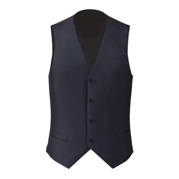 Waistcoat Tallia Delfino Four Seasons Solid Dark blue