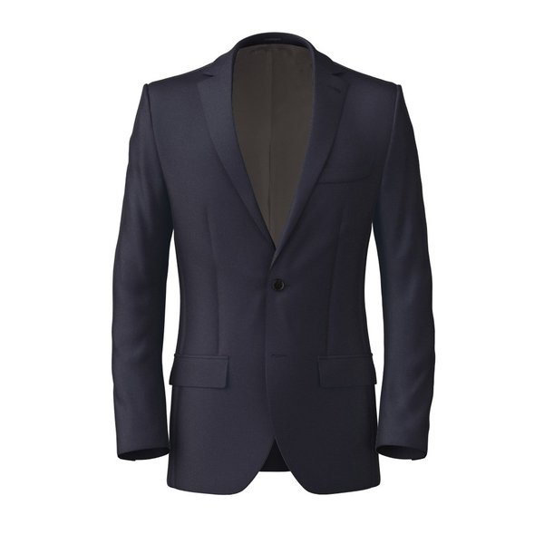 Jacket Tallia Delfino Four Seasons Solid Dark blue