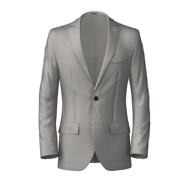 Blazer Tallia Delfino Four Seasons Solid Light Grey