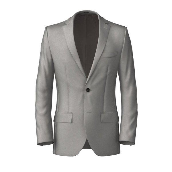 Veste Tallia Delfino Four Seasons Solid Light Grey