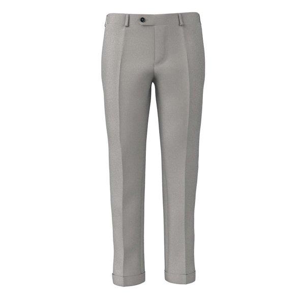 Pantalon Gris Authentique Tissu fabriqué par  Tallia Delfino