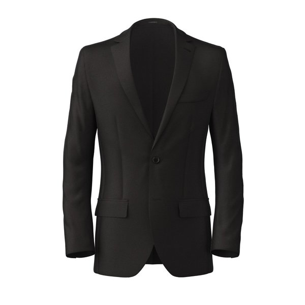 Blazer Tallia Delfino Four Seasons Solid Black