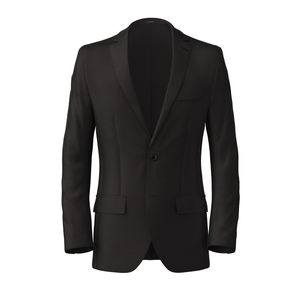 Blazer Black Wool
