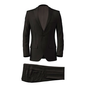 Suit Black Wool