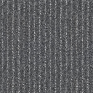 Grey Pinstripe Flannel Suit Fabric produced by  Vitale Barberis Canonico