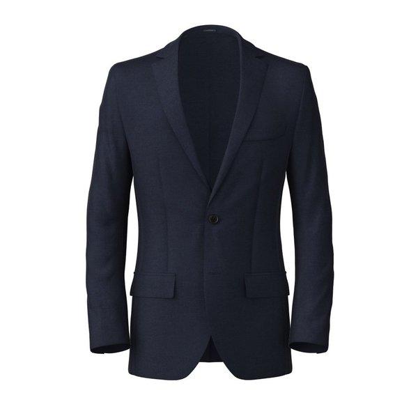 Blazer Vitale Barberis Canonico Four Seasons Twill Blue