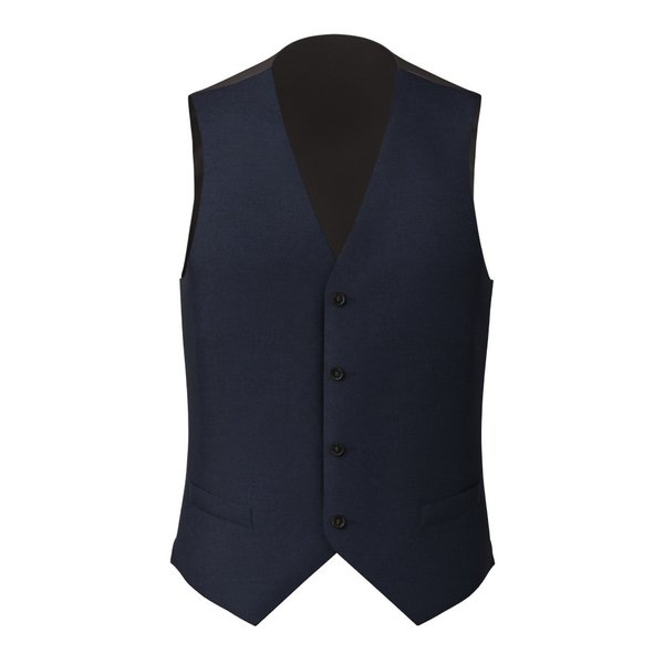 Gilet Vitale Barberis Canonico Four Seasons Twill Blue