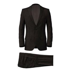 Suit Metropolis Grey Sharkskin