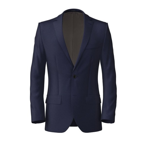 Jacket Lanificio Ermenegildo Zegna Four Seasons Solid Blue