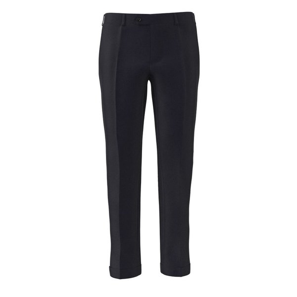 Icon Midnight Blue Trousers Fabric produced by  Lanificio Ermenegildo Zegna