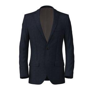 Jacket Genova Blue Melange