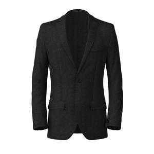 Turin Grey Melange Blazer Fabric produced by  Lanificio Ermenegildo Zegna