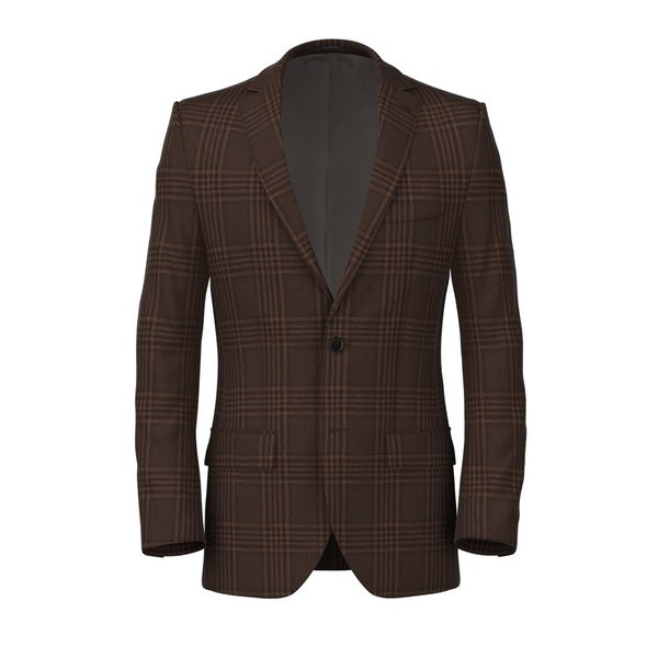 Linen Silk Terra Jacket Fabric produced by  Lanificio Ermenegildo Zegna