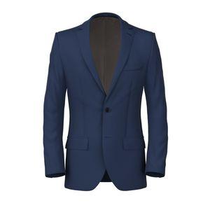 Jacket Electric Blue Twill
