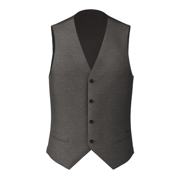Gilet Reda Four Seasons Solid Light Grey