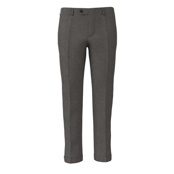 Pantalone Reda Quattro Stagioni Tinta Unita Grigio Chiaro