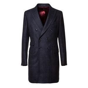 Cappotto Blu Design Tessuto prodotto da  Drago