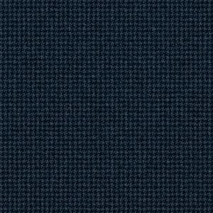 Pantaloni Blu Pied de Poule Tessuto prodotto da  Loro Piana