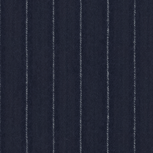 Pantaloni Blu Gessati Flanella Tessuto prodotto da  Vitale Barberis Canonico
