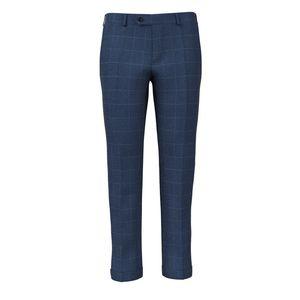 Pantaloni Blu Finestrati Tessuto prodotto da  Drago