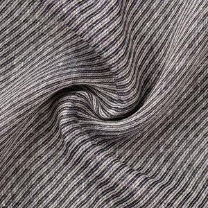 Obliqua Grey Scarf Fabric produced by  MaAlBi