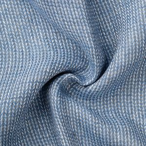 Sciarpa Spigata Azzurra Tessuto prodotto da  MaAlBi